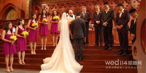 教堂婚礼牧师见证誓词 以神的名义向婚姻起誓